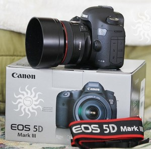Canon EOS 5D Mark III с EF 24-105mm IS объектив